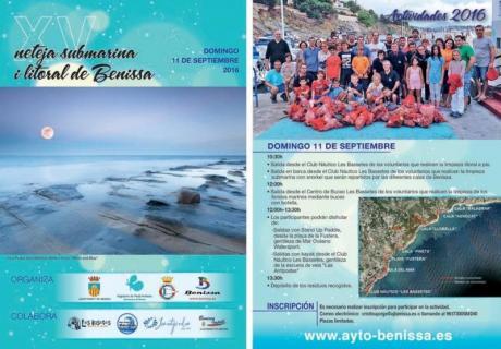 XV Neteja submarina litoral de Benissa