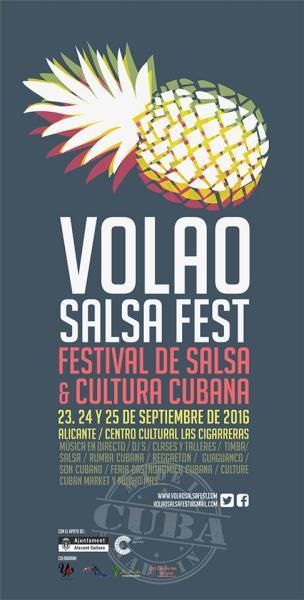 Volao Salsa Fest. I Festival de salsa y Cultura cubana de Alicante 2016