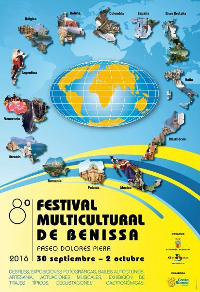 8th Multicultural Folk Festival of Benissa