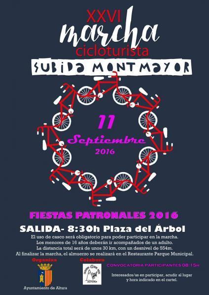 XXVI Marcha Cicloturista - SUBIDA A MONTMAYOR