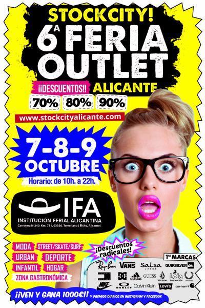 Stockcity! 6ª Feria Outlet Alicante 2016