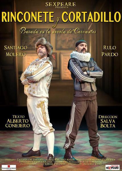 """Teatro """"Rinconete y Cortadillo"""" en Manises 2016"""