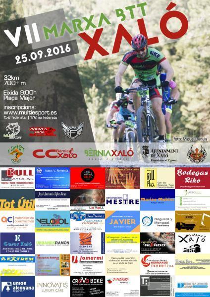 VII BTT Xaló. Bike Race
