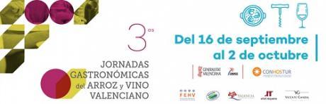 Jornadas gastronómicas del arroz y vino valenciano