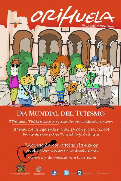 ORIHUELA - DÍA MUNDIAL DEL TURISMO #DMT-2016. - ¡SÉ TURISTA EN TU CIUDAD!