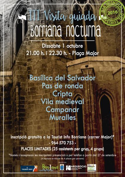 """Burriana – Día Mundial del Turismo DMT-2016 – """"Sé turista en tu ciudad""""."""