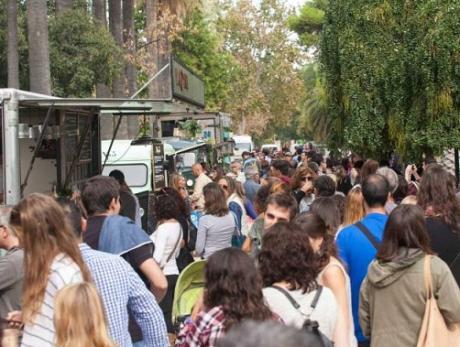 Amstel Valencia Market en los Jardines de Viveros
