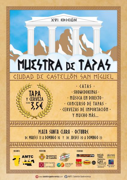 XVI Muestra de Tapas Ciudad de Castellón