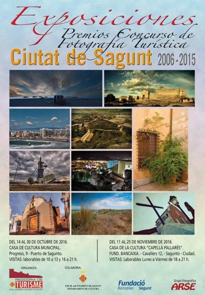 Exposición Concurso Fotografía Turística. Sagunto 2016