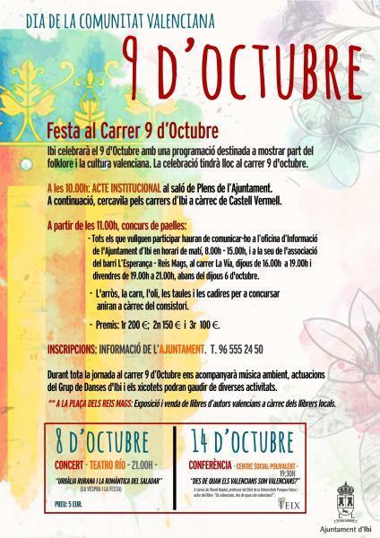 Ibi celebra el 9 de Octubre