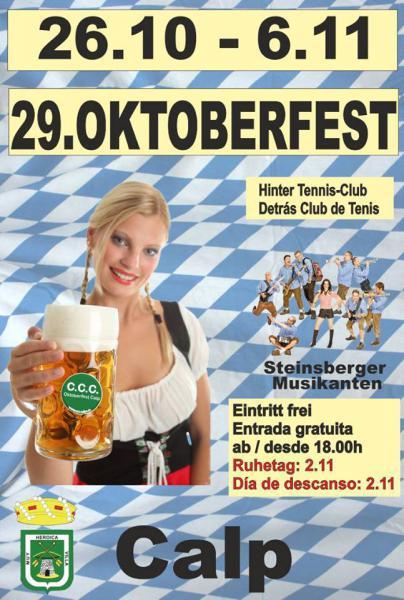 Oktoberfest Calp 2016