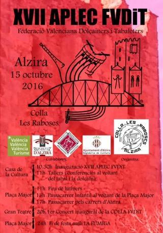 XVII Aplec Federació Valenciana Dolçainers i Tabaleters (FVDiT) 2016