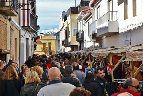 La Safor turns its attention to the Porrat de Sant Blai festival