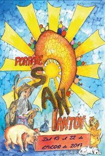 Feierlichkeiten Zu Ehren Von San Antonio Abad