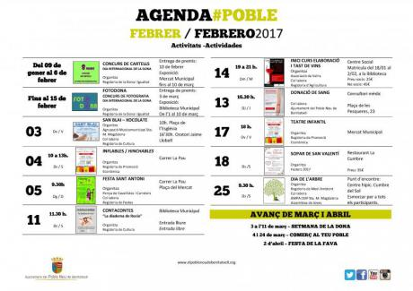 Agenda Febrero 2017
