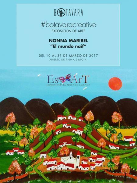 Exposición de arte en Botavara Benicàssim