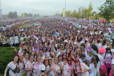 Holi Run, the happiest race on the planet reaches Valencia