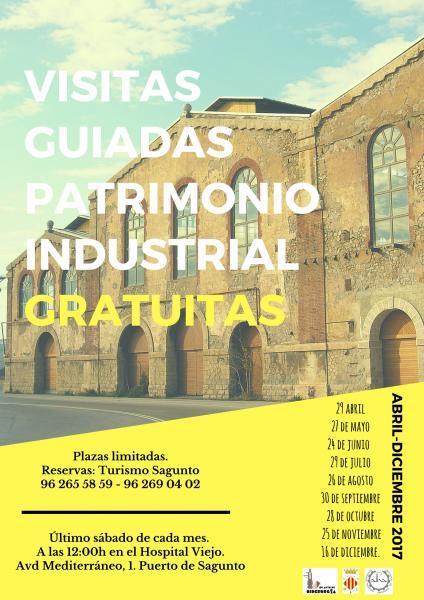 Visitas Guiadas Patrimonio Industrial. Sagunto 2017
