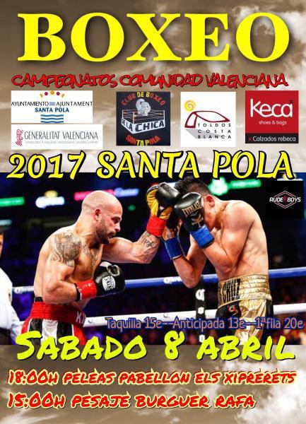 Boxeo en Santa Pola