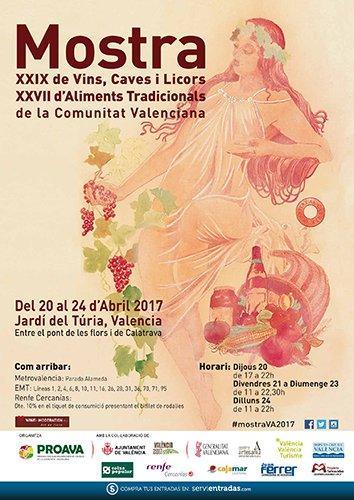 XXIX Mostra de Vins, Caves, Licors i XXVII Mostra d´Aliments Tradicionals de la Comunitat Valenciana