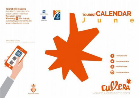 Tourist calendar June 2017 Cullera