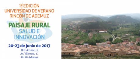 1º Edición Universidad de Verano Rincón de Ademuz