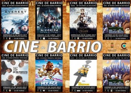 Cine de Barrio Verano 2017 Ibi