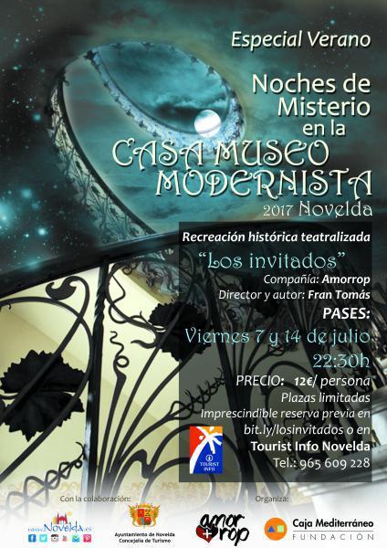 NOCHES DE MISTERIO en la Casa Museo Modernista