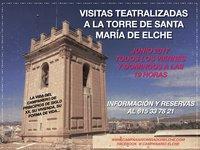 Visitas teatralizadas a la Torre Campanario de Santa maría