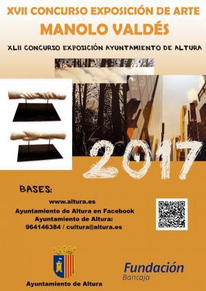 """XVII Concurso de exposición de arte """"Manolo Valdés"""""""