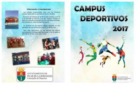 Campus Deportivos de Verano en Pilar de la Horadada 2017