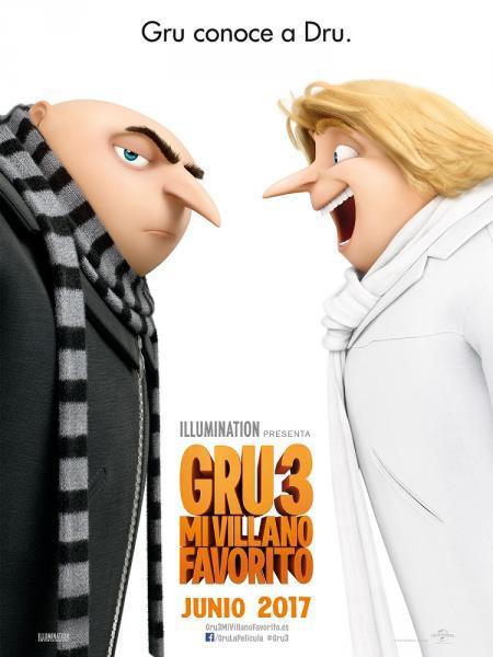 Cine Animación: Gru 3 Mi villano favorito