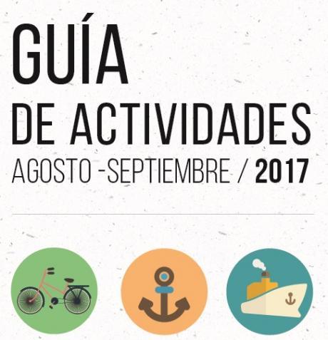 Guía de actividades de agosto y septiembre 2017