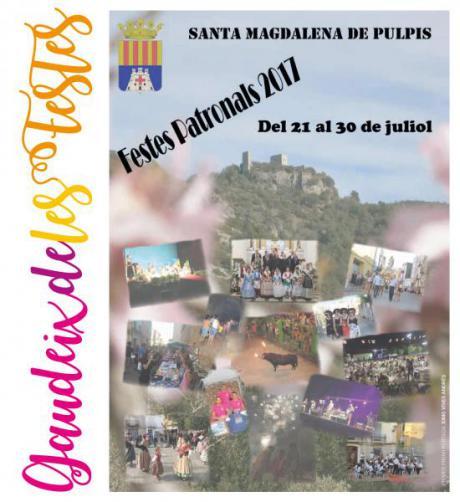 Fiestas en honor a Santa Magdalena y la Inmaculada en Santa Magdalena de Pulpis