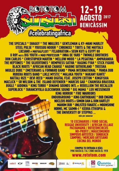 Festival Rototom Sunsplash Benicàssim 2017