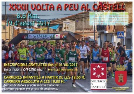 Volta al castell en Atzeneta del Maestrat