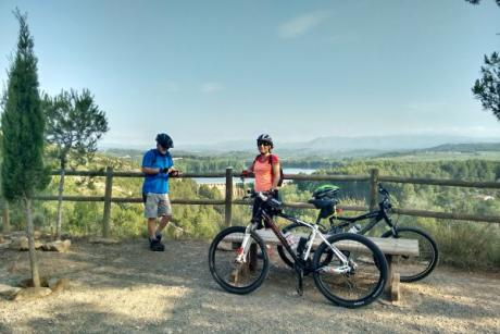 The green route of Ojos Negros, a fantastic BTT route for families