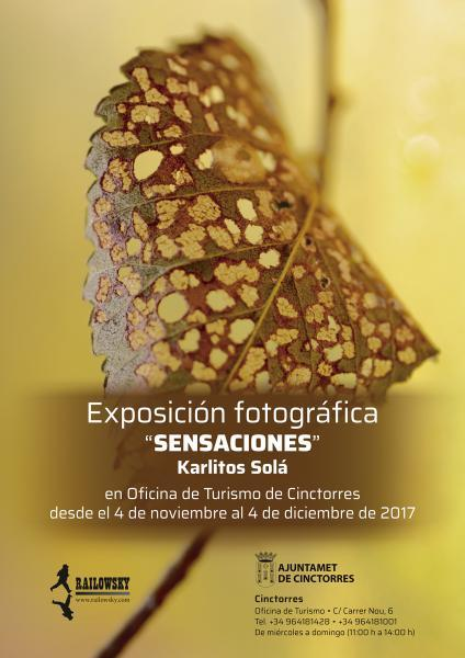 """Exposición de fotografia """"Sensaciones"""""""
