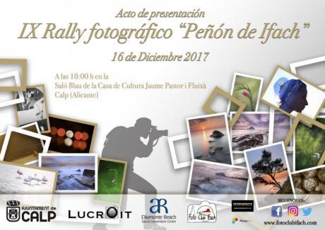 Presentación del IX Rally Fotográfico Peñón de Ifach