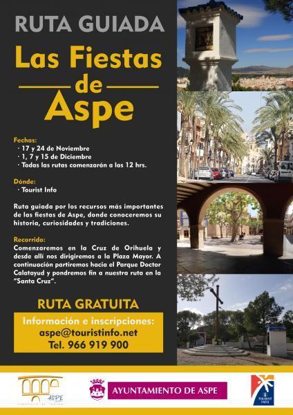 RUTA GUIADA DE LAS FIESTAS DE ASPE