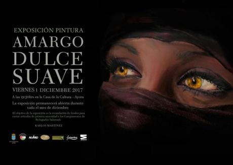 Exposición de Pintura AMARGO,DULCE Y SUAVE en Ayora
