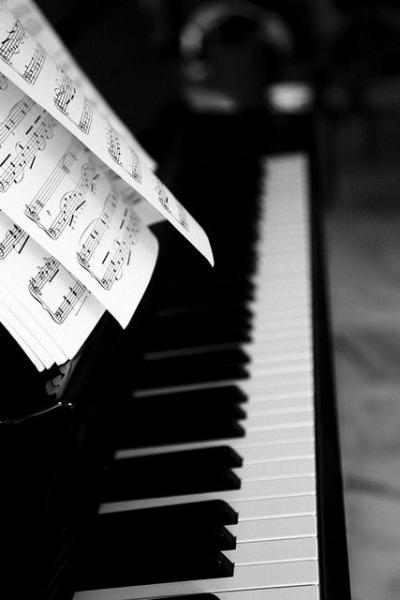 Audición de piano de la Escuela de música y danza