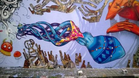 Arte en los muros de Fanzara y Torreblanca