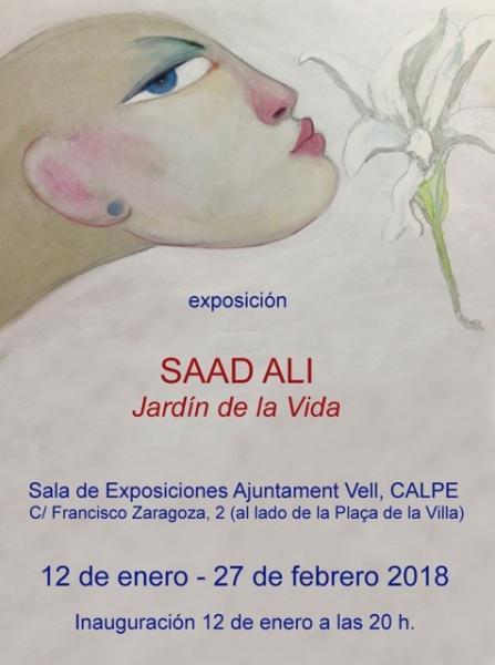 """Exposición """"El Jardín de la Vida"""" de Saad Alí"""