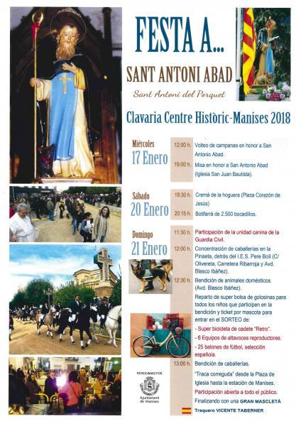 Fiestas de San Antonio Abad 2018