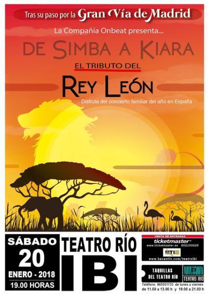 De Simba a Kiara. Musical Tributo del Rey León.