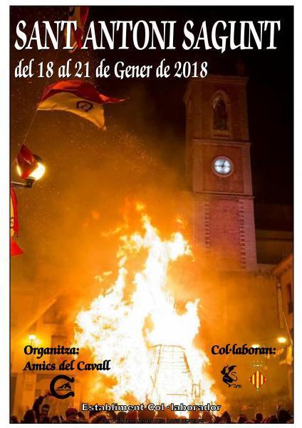 Sant Antoni. Sagunto 2018