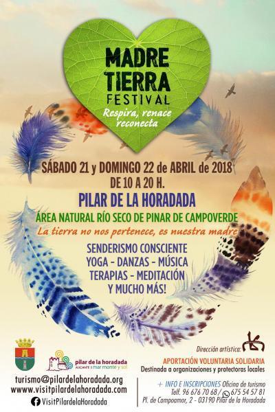Festival Madre Tierra -Respira, renace, reconecta en Pilar de la Horadada