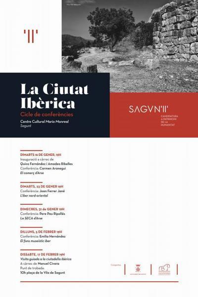 Ciclo de conferencias 'La Ciutat Ibèrica'. Sagunto 2018