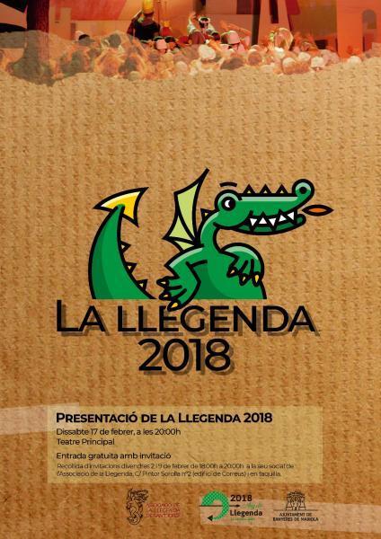 Presentación de la Llegenda 2018- Banyeres de Mariola (Alicante)